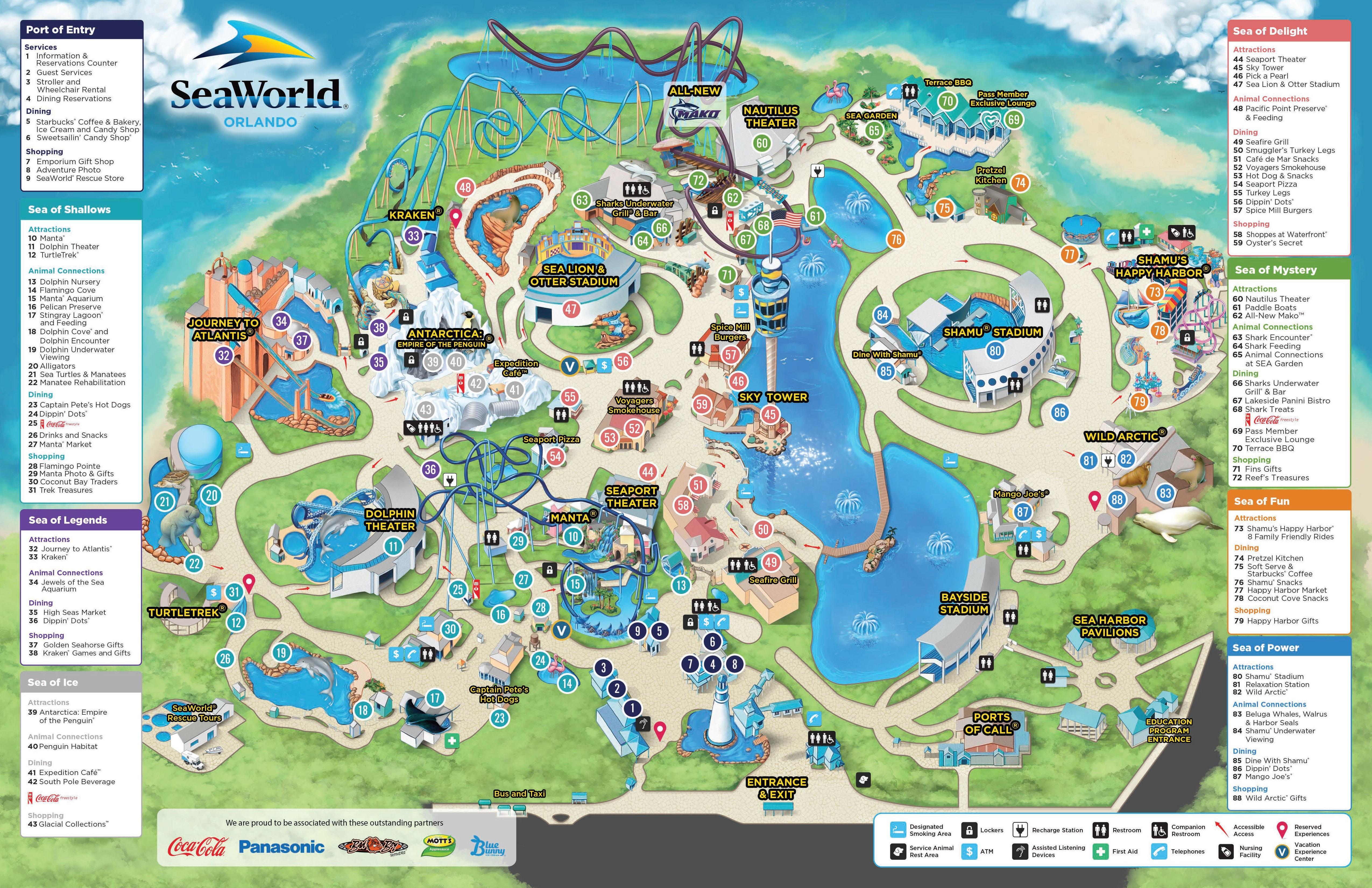 HIGHSTAR TRAVEL GROUP Helpful Information - Bush gardens park map